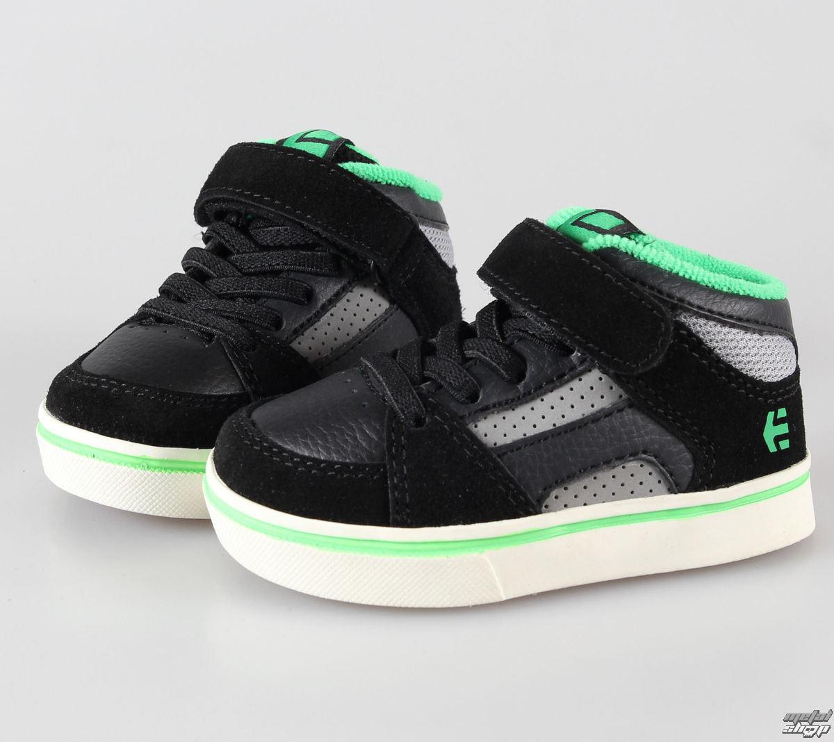 boty dětské ETNIES - Toddler RVM Strap - Black/Green