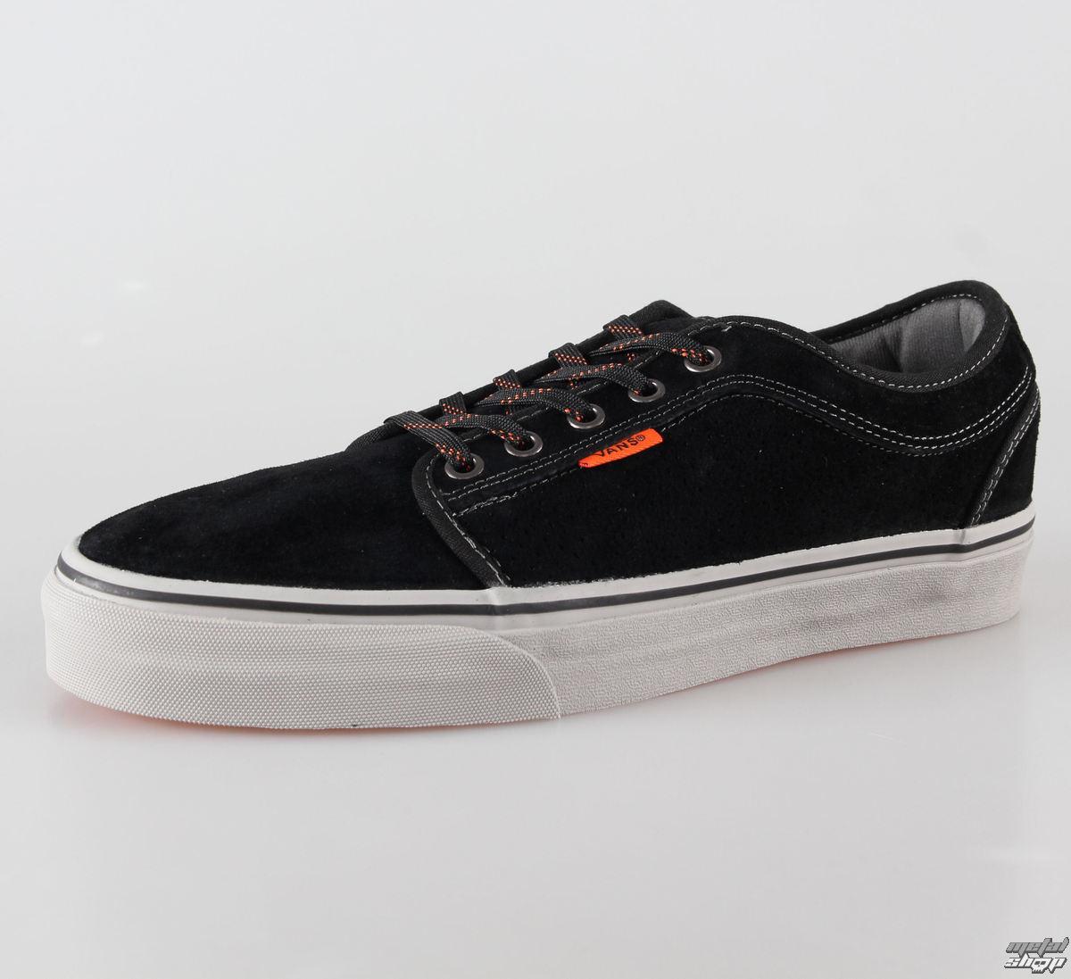 boty pánské VANS - Chukka Low - Black/Grey/Orange - VNKA0ZN