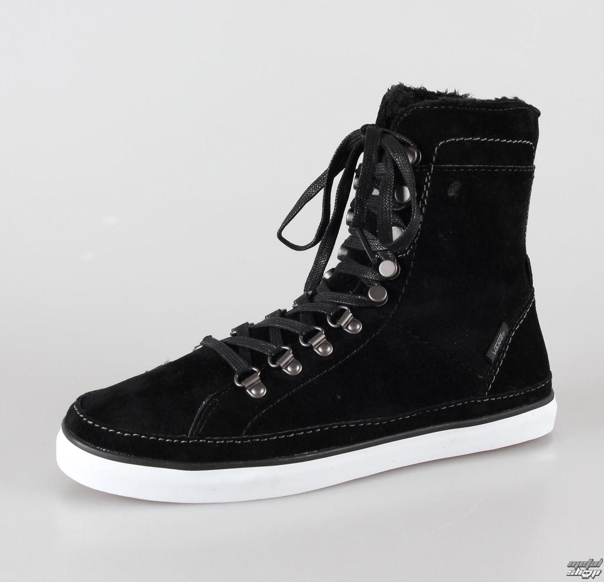 boty dámské zimní VANS - Shilo Hiker - Black/White - VUDK8M6