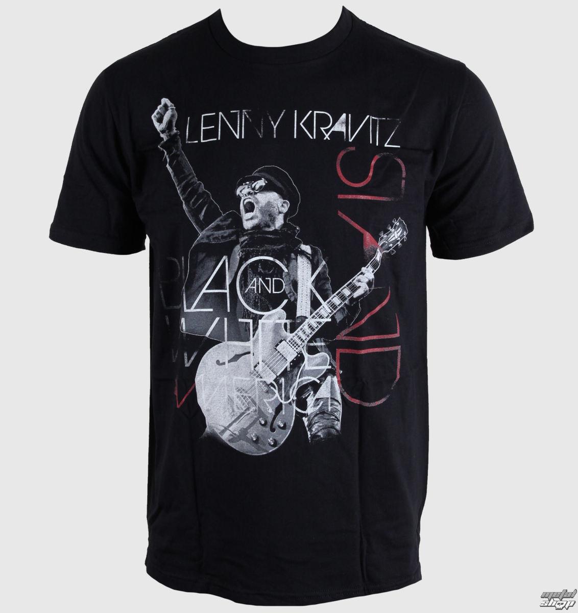 tričko pánské Lenny Kravitz - Live Mens - Black - LIVE NATION - 10516