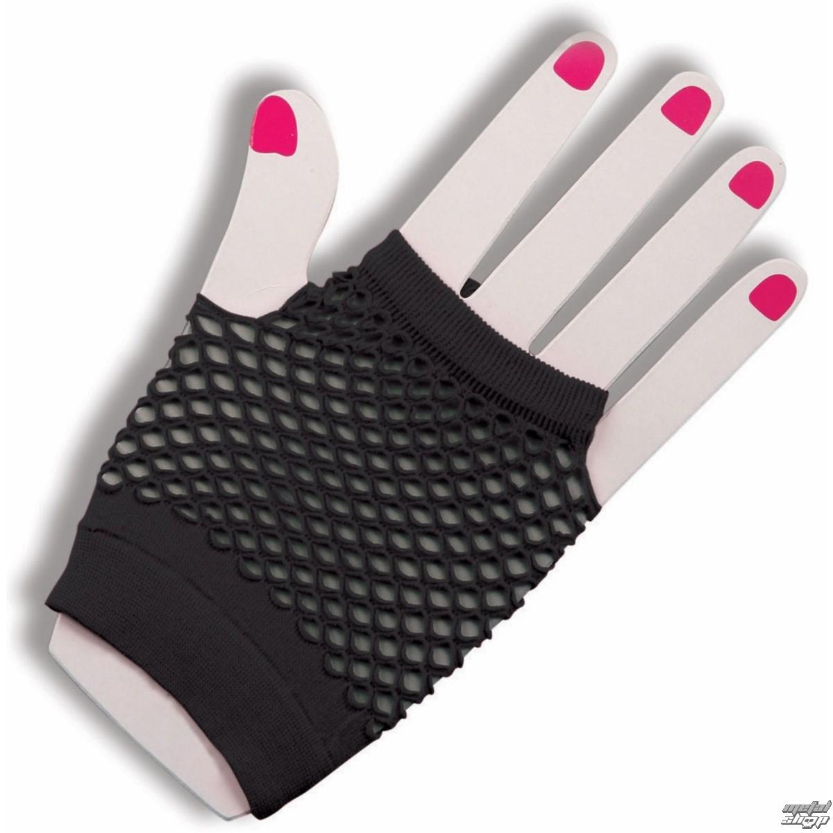 rukavice (narukávník) LEGWEAR - Short Fishnet - Black - SAGSFN1BL1