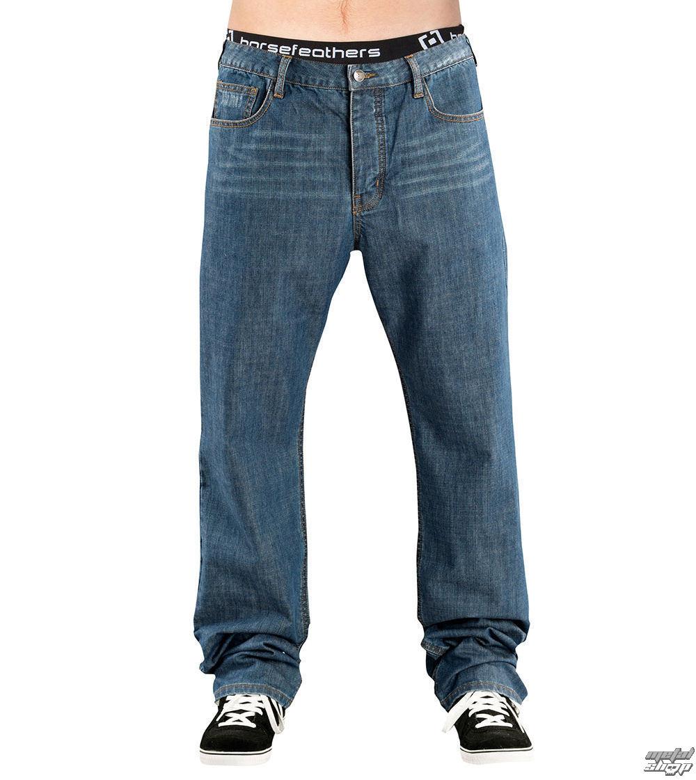 kalhoty pánské -jeansy- HORSEFEATHERS - Blunt Straight