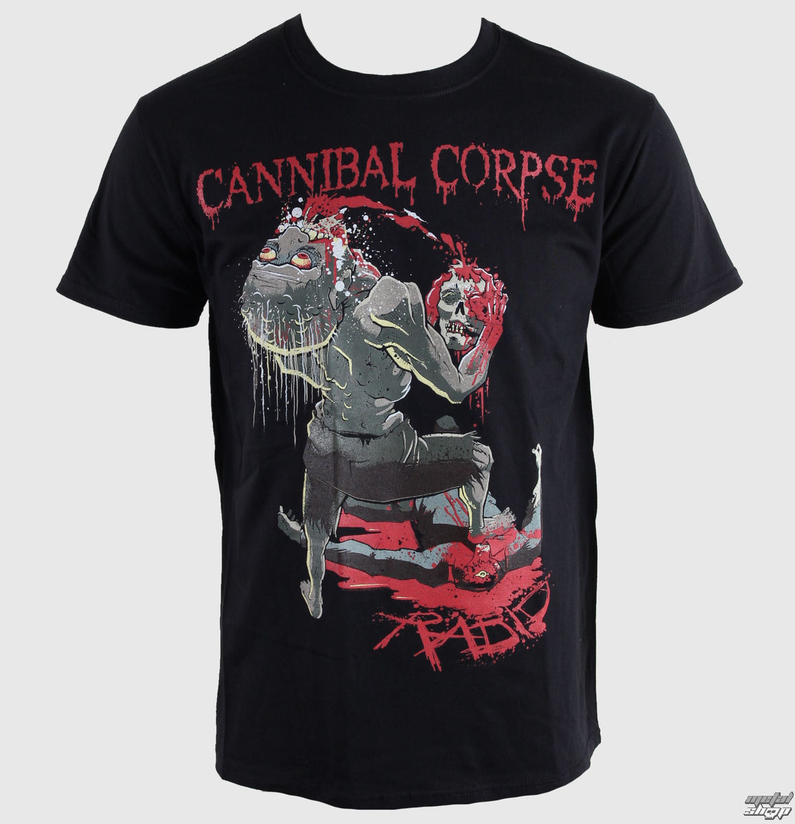 tričko pánské Cannibal Corpse - Rabid - PLASTIC HEAD - PH7739