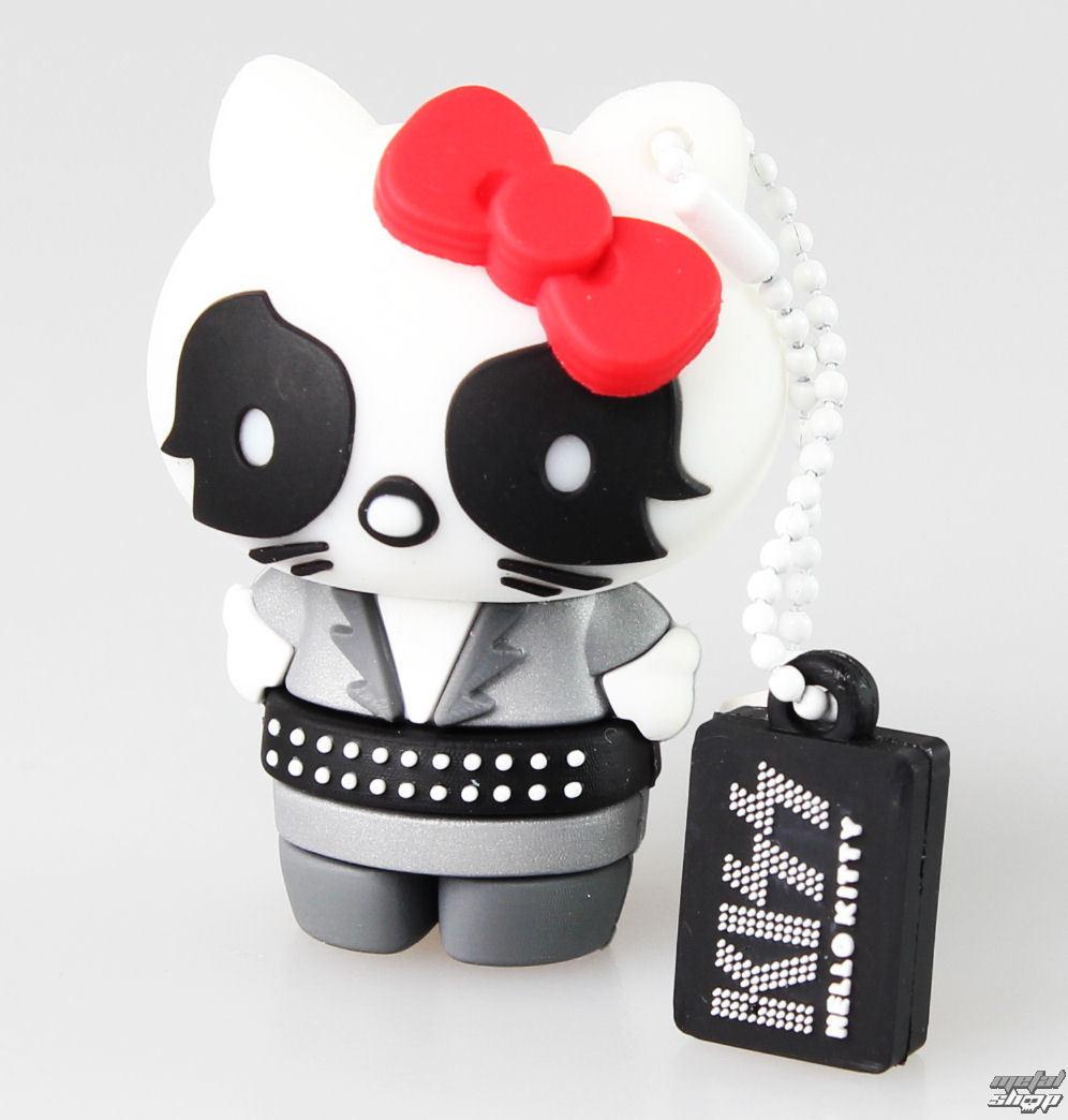 flash disc USB 8GB (přívěšek) KISS - HELLO KITTY - The Catman - 23993
