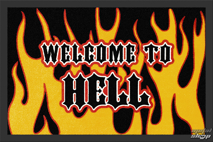 rohožka Welcome To Hell - ROCKBITES - 100663