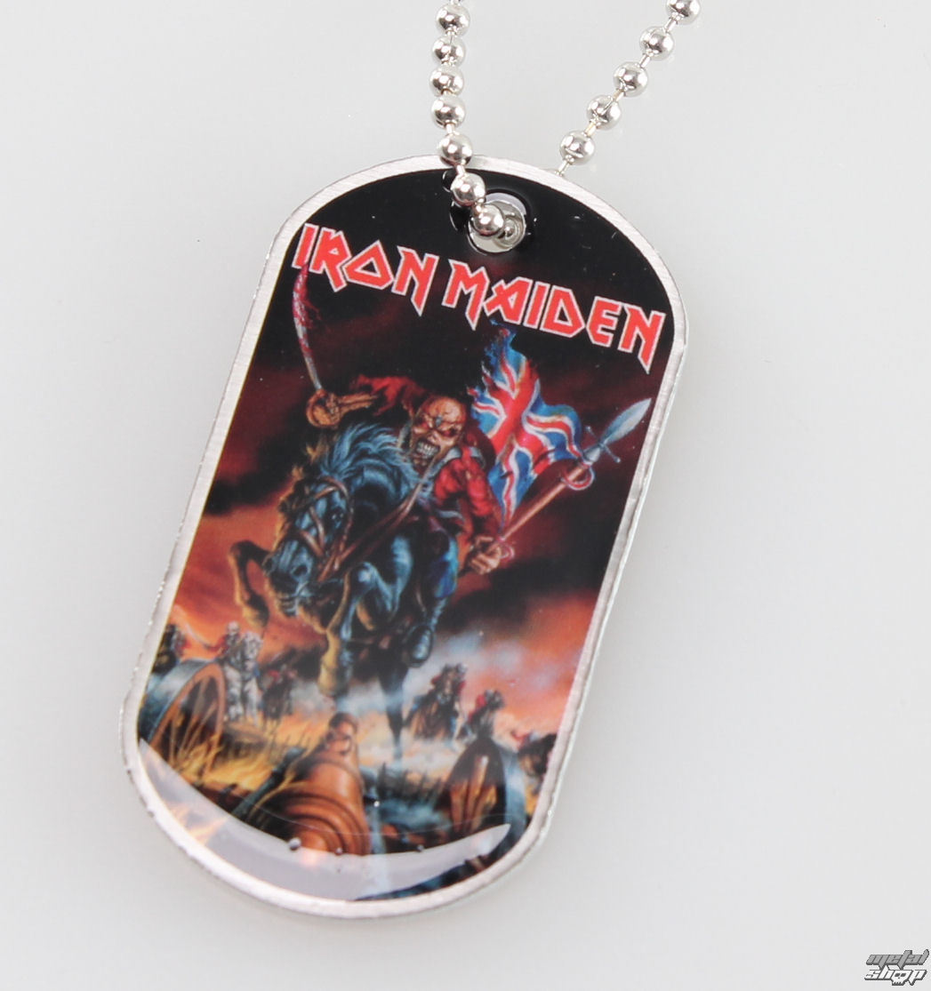 obojek (psí známka) Iron Maiden - Maiden England - RAZAMATAZ - DT056