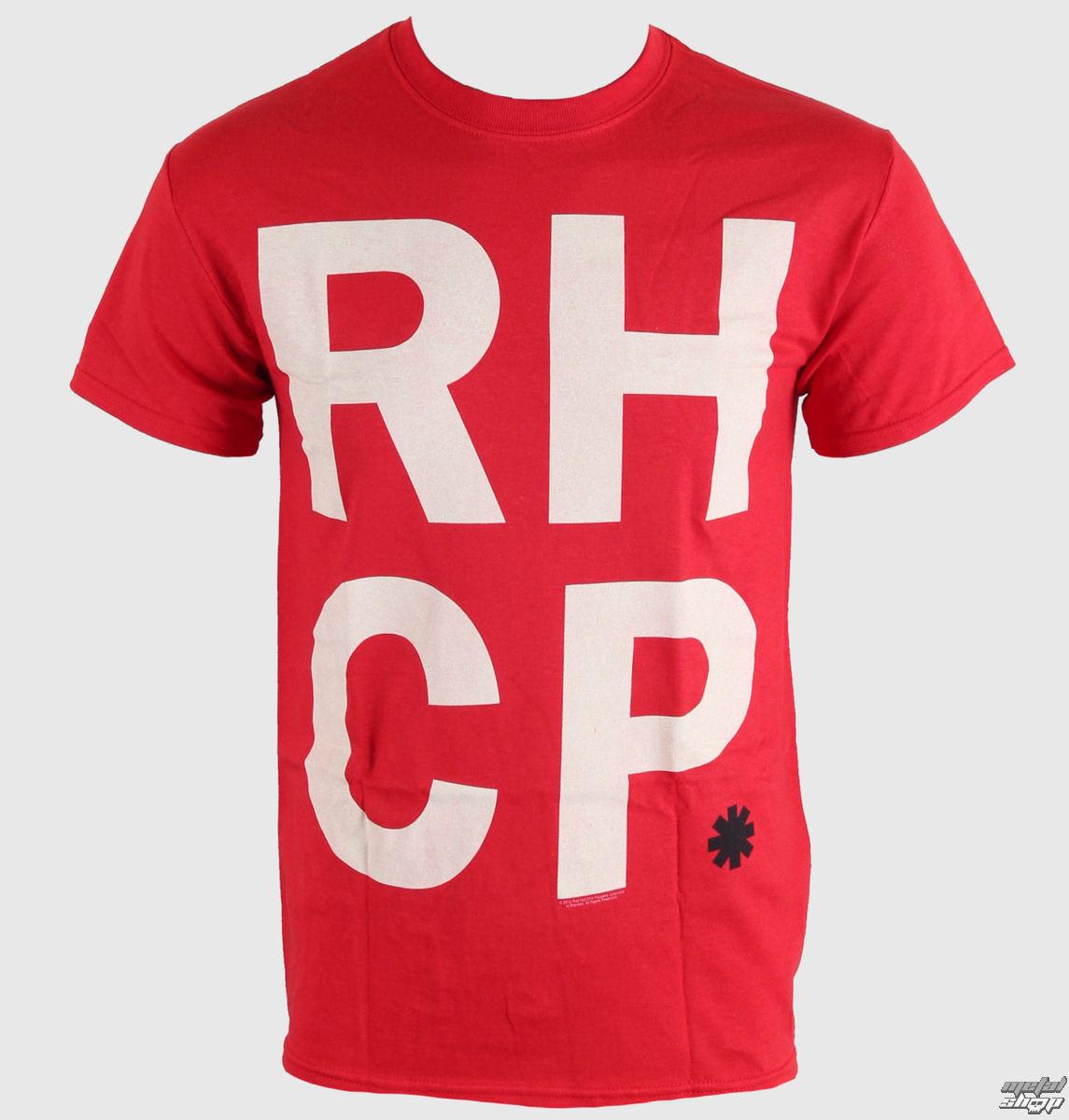 tričko pánské Red Hot Chili Peppers - Stack - LIVE NATION - 0060