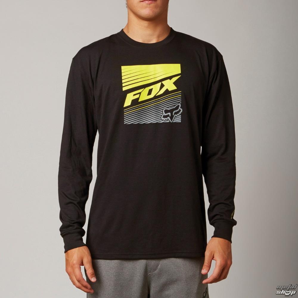 tričko pánské s dlouhým rukávem FOX - Decadence - Black