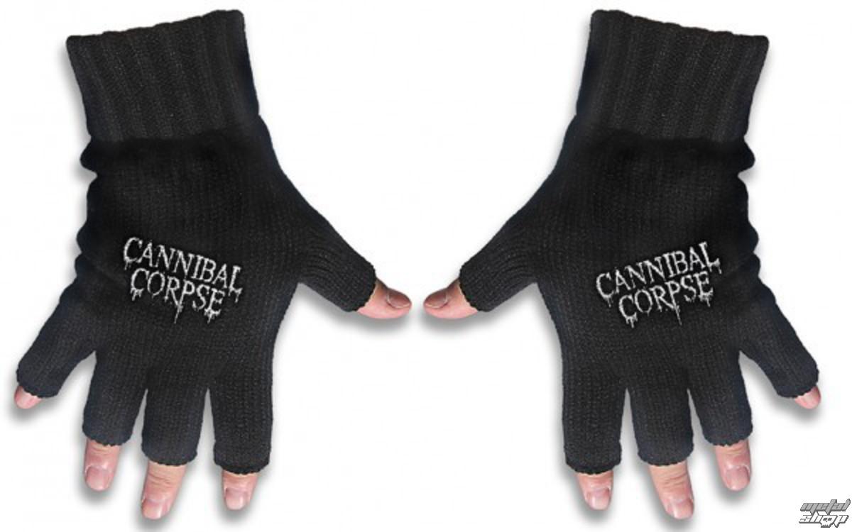 rukavice bezprsté Cannibal Corpse - Logo - RAZAMATAZ - FG044