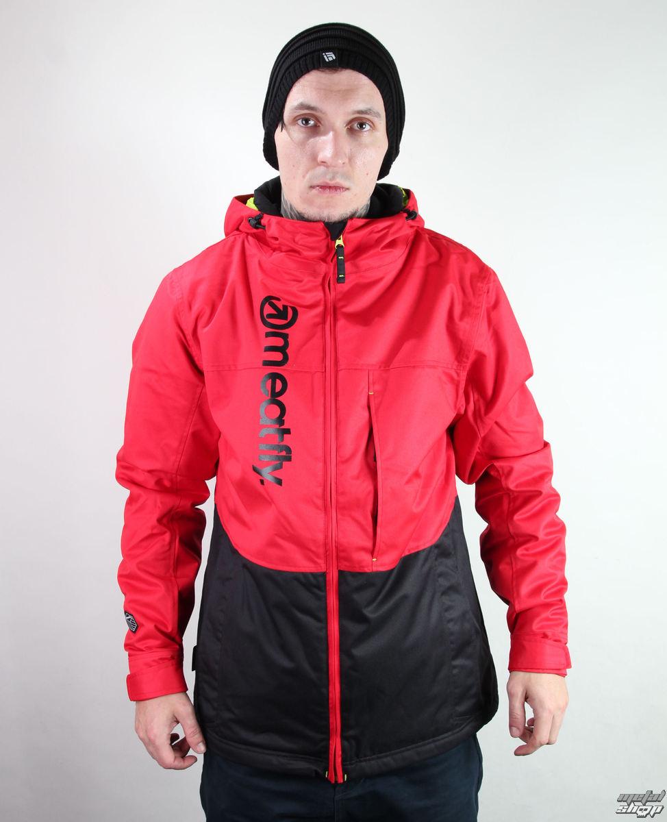 bunda pánská zimní -snb- MEATFLY - Marthus - F - RED-BLACK