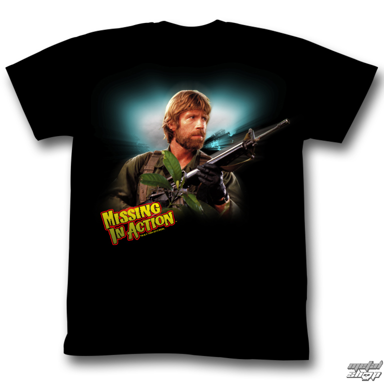 tričko pánské Nezvěstní v boji (Chuck Norris) - Welcome To The Jungle - AC - MIA513
