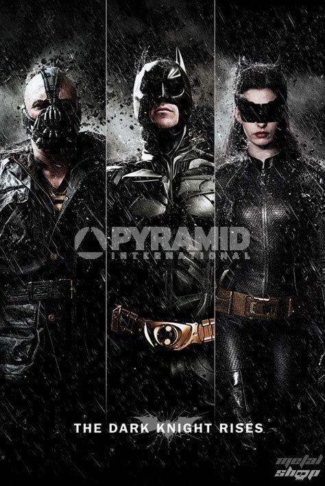 plakát Batman - The Dark Knight Rises - Three - PYRAMID POSTERS - PP32866