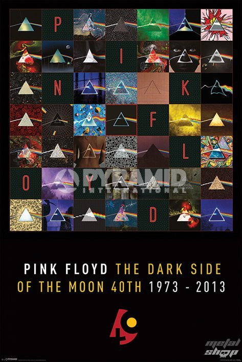 plakát Pink Floyd - Dark Side Of The Moon - PYRAMID POSTERS - PP33109