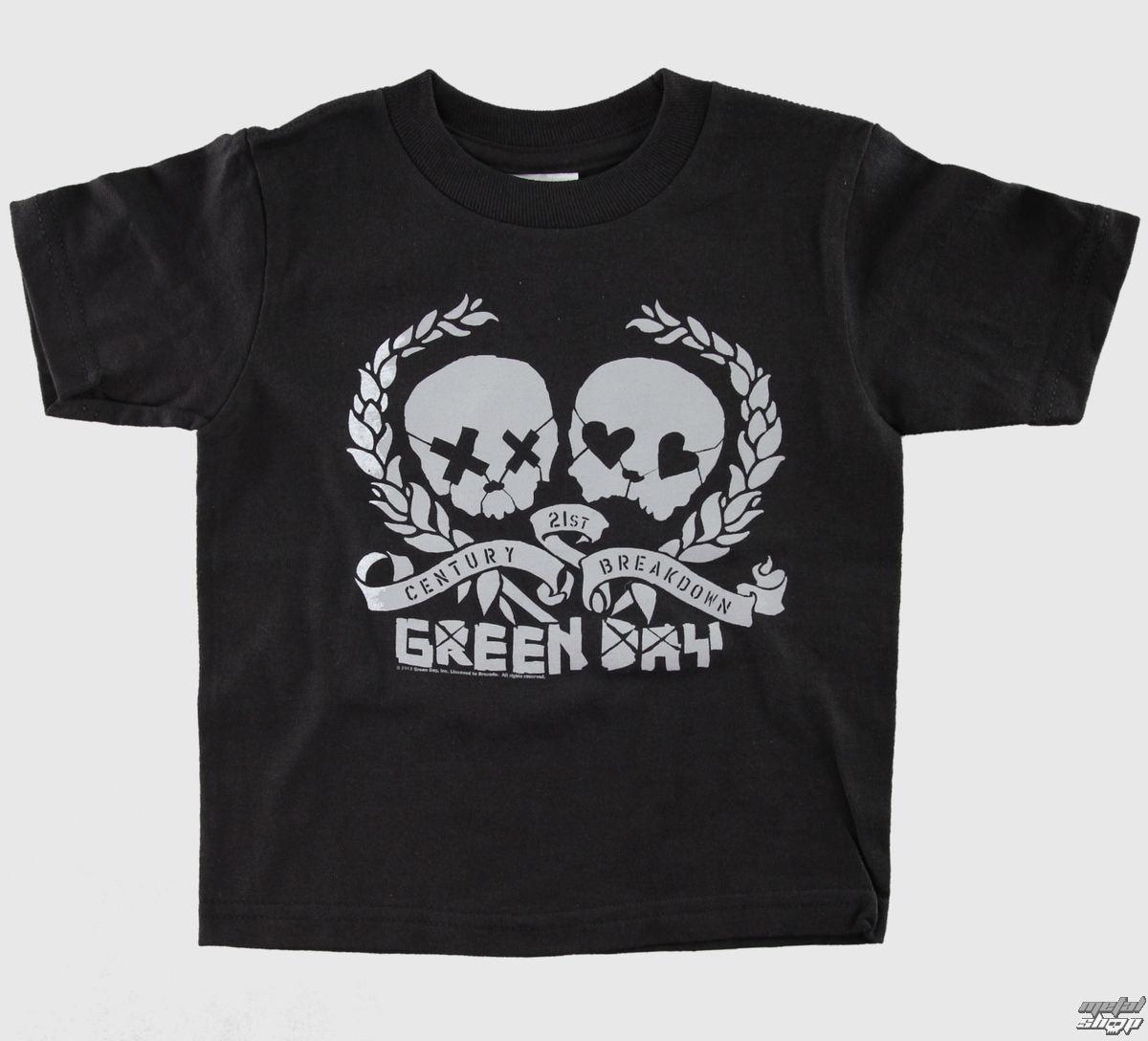 tričko dětské Green Day - Blk - BRAVADO - GDY1211