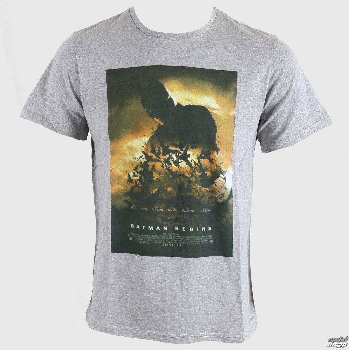 tričko pánské Batman - Dark Knight - Gris Chine - LEGEND - HDKTS 1303