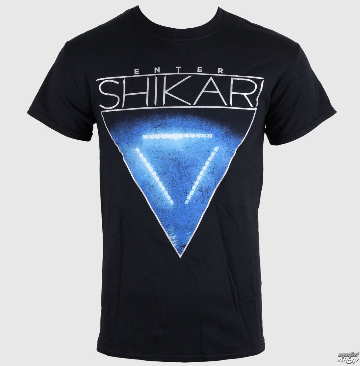 tričko pánské Enter Shikari - Blue Tri Light - LIVE NATION - 1072