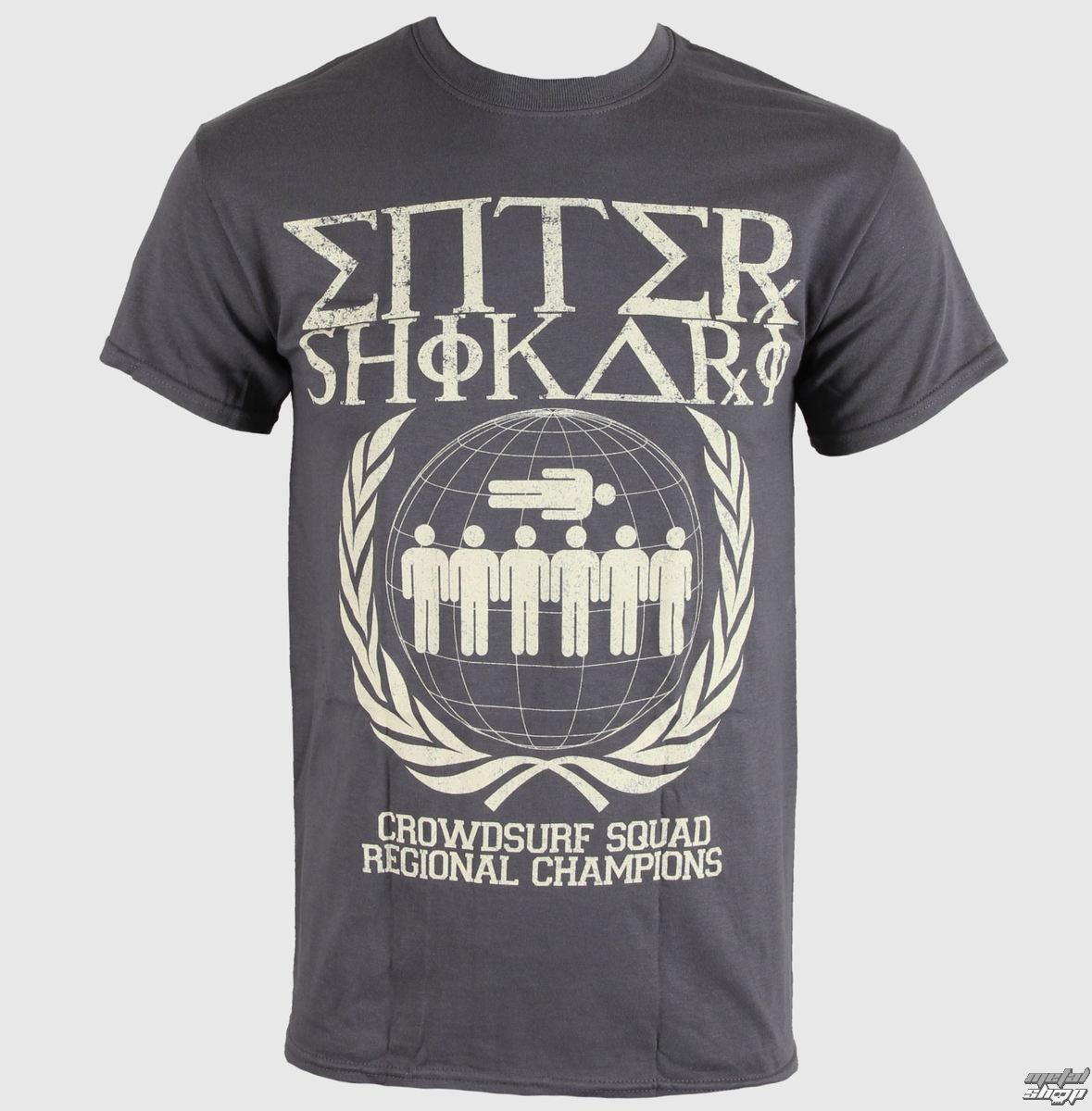 tričko pánské Enter Shikari - Crowd Surfing - LIVE NATION - 1010