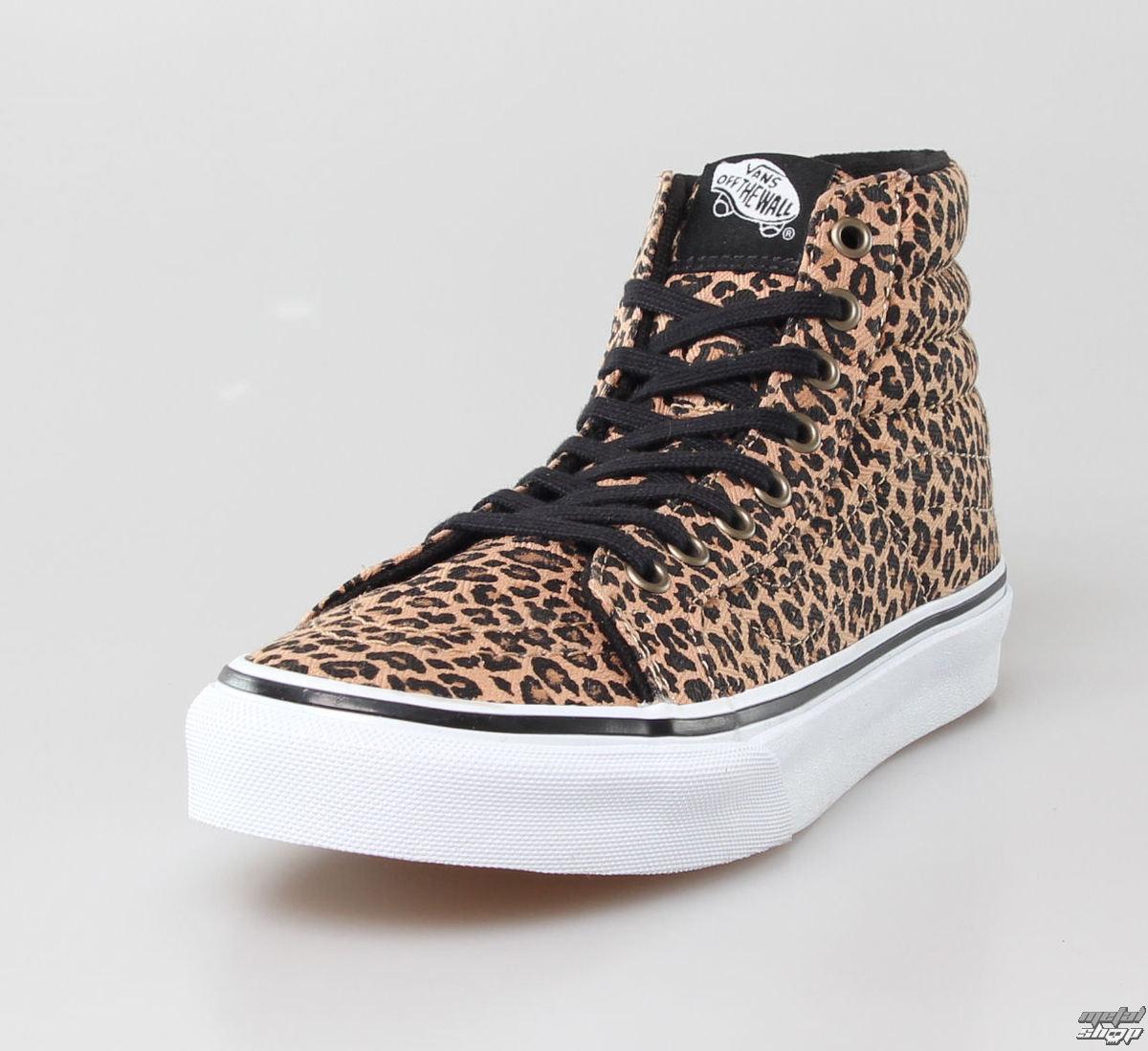 Vans Boty Dámské Leopard