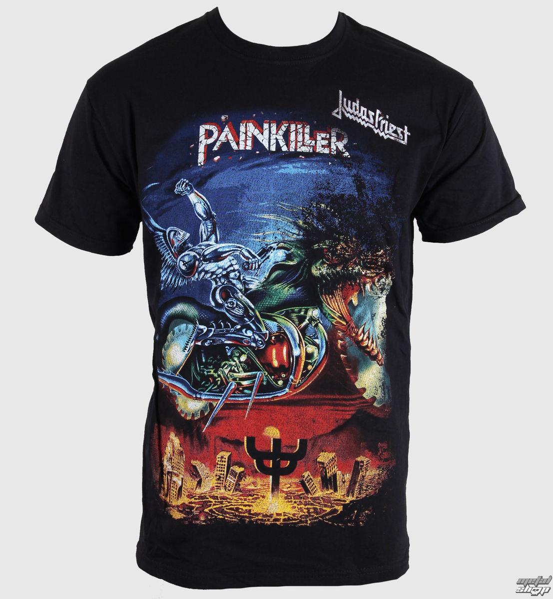 tričko pánské Judas Priest - Painkiller - ROCK OFF - JPTEE06MB