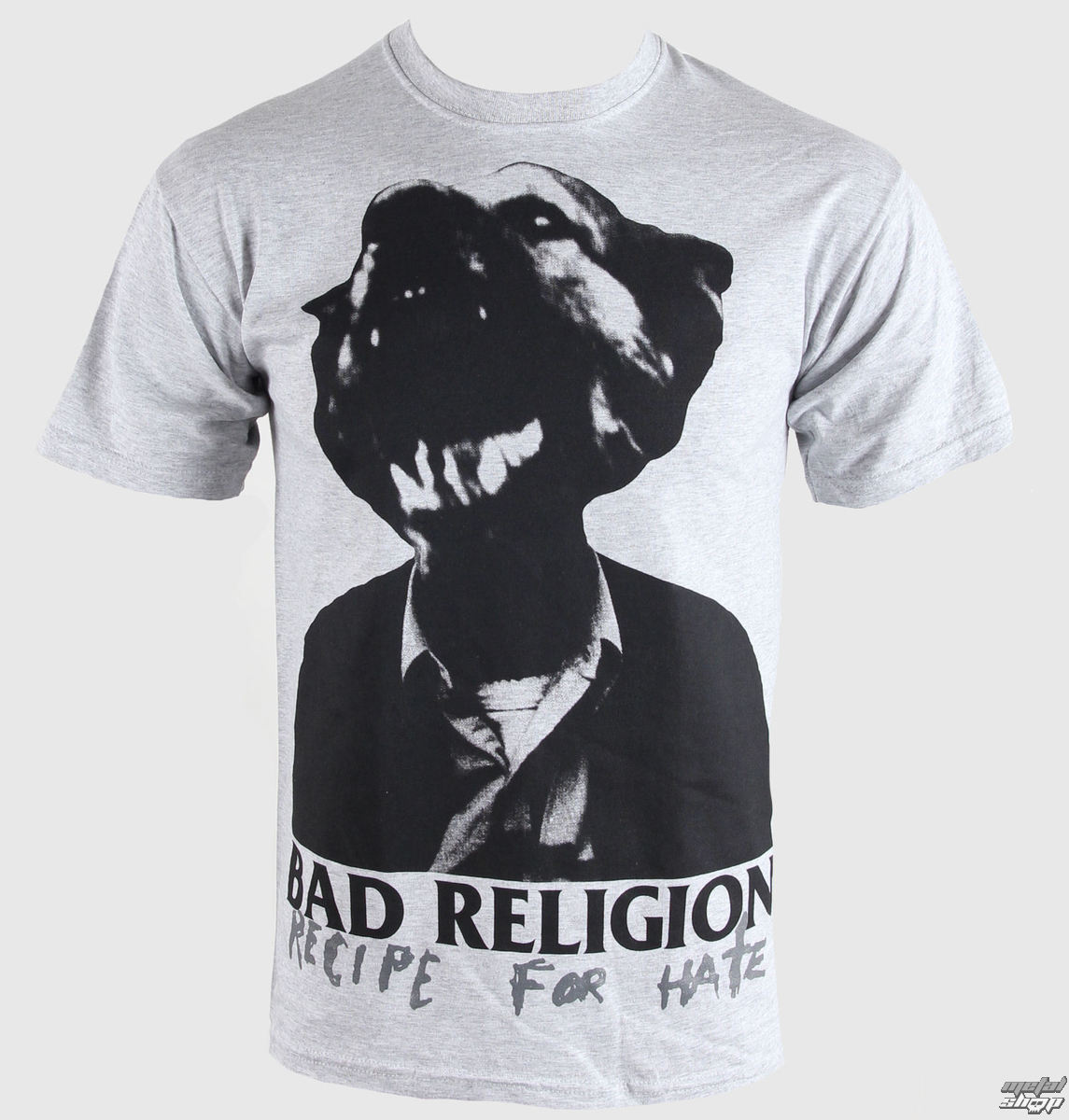 tričko pánské Bad Religion - Recipe For Hate - Heather Gray - KINGS ROAD
