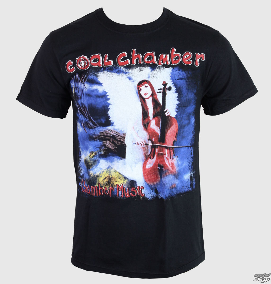 tričko pánské Coal Chamber - Chamber Music - Black - KINGS ROAD