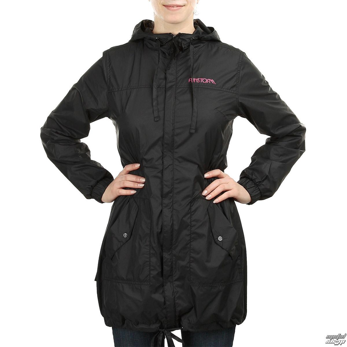 bunda dámská -kabátek- jarně-podzimní FUNSTORM - Munfe - 21 BLACK
