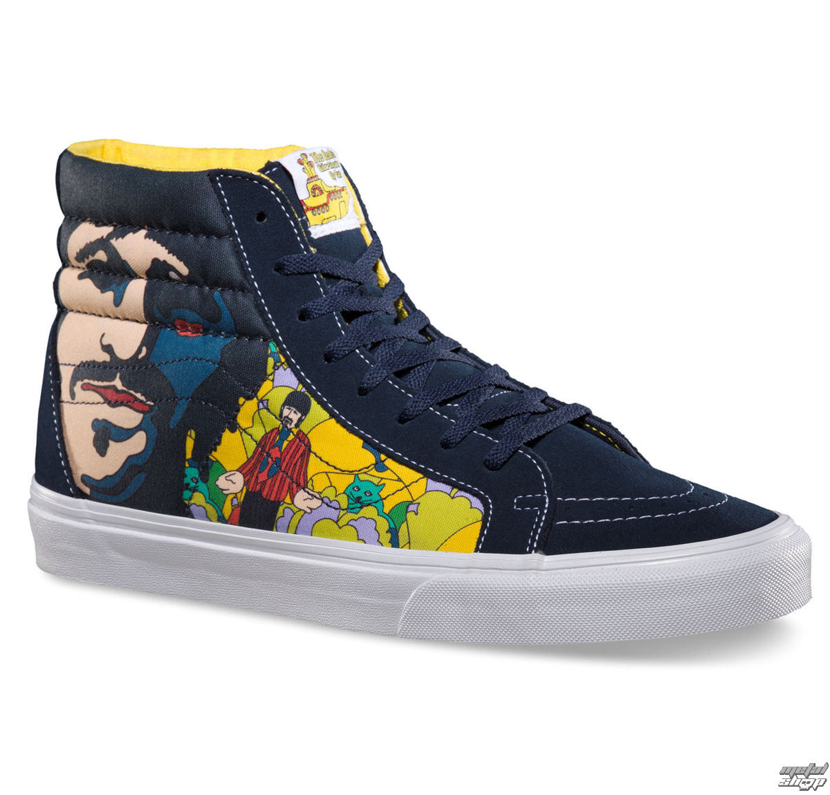 boty VANS - SK8-HI Reissue (The Beatles) - Faces Dres