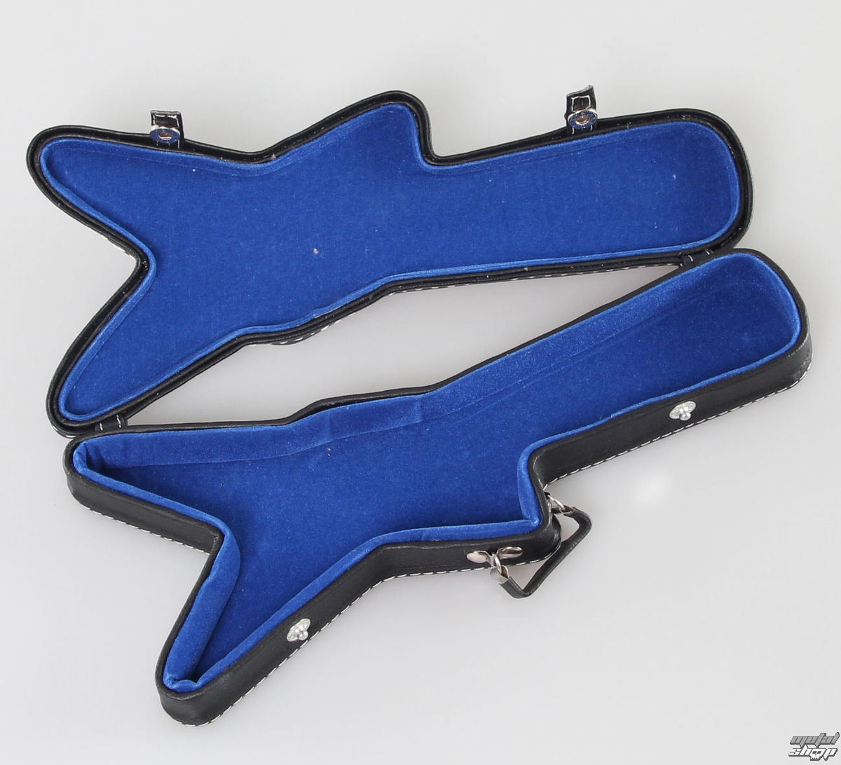 pouzdro na kytaru 2 - modrý vnitřek