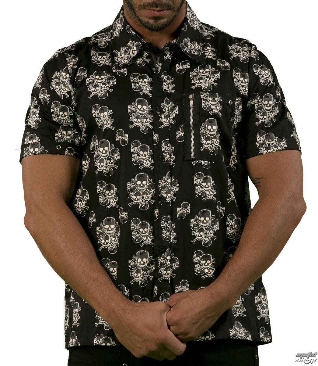 košile pánská DEAD THREADS - GS9703