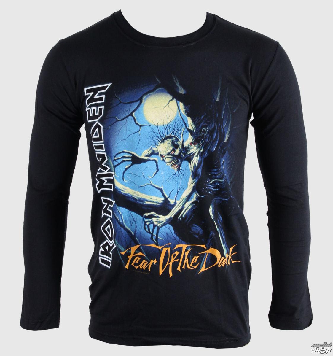 tričko pánské s dlouhým rukávem Iron Maiden - Fear of The Dark - BRAVADO EU - IMLST02MB