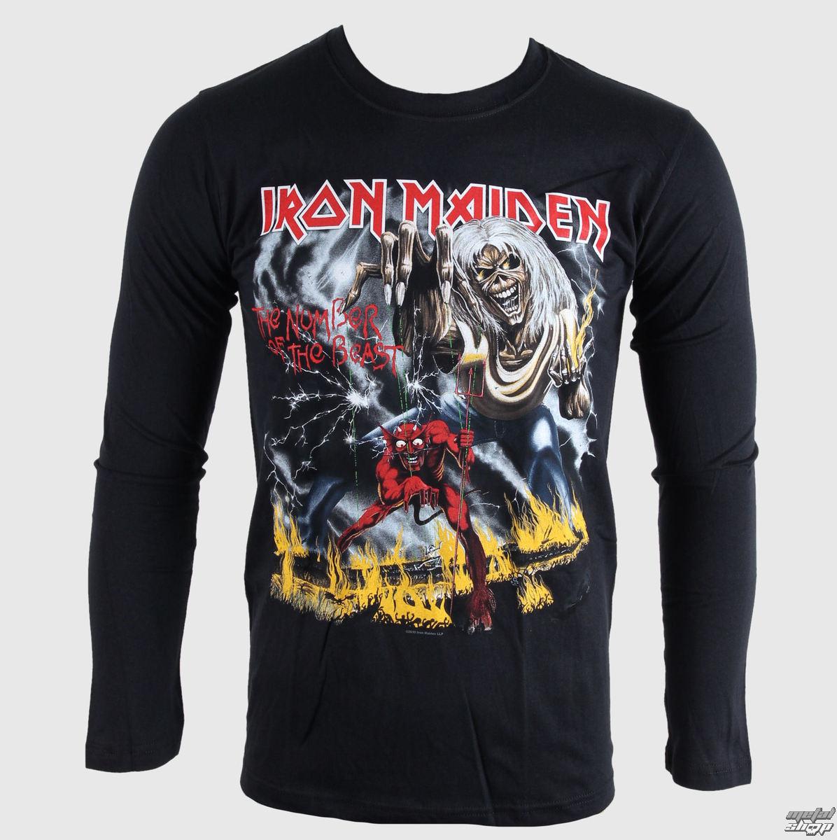 tričko pánské s dlouhým rukávem Iron Maiden - NOTB - BRAVADO EU - IMLST04MB