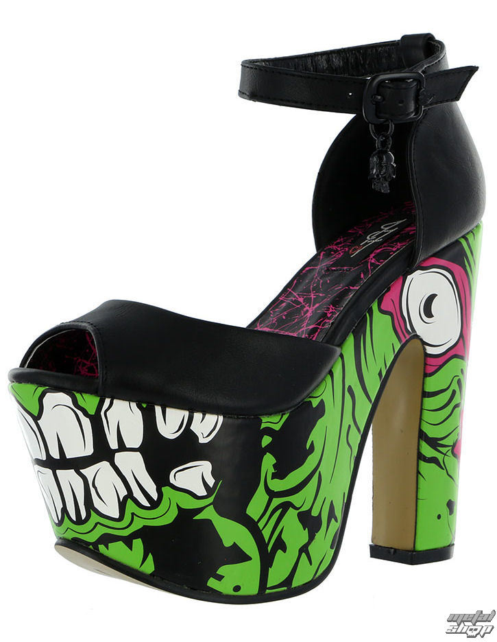 boty dámské IRON FIST - Zombie Stomper Super - Monster Green - IFLPLH12982S14