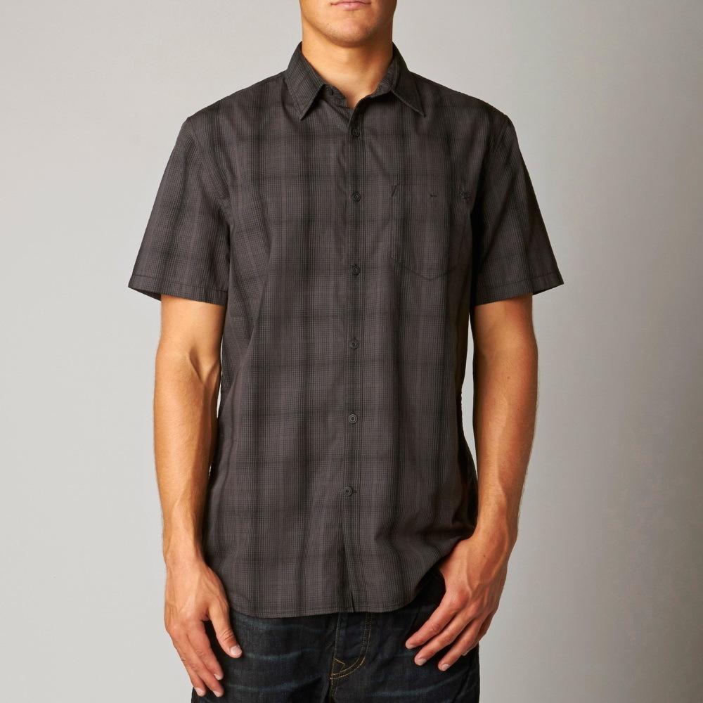 košile pánská FOX - Clem - BLACK