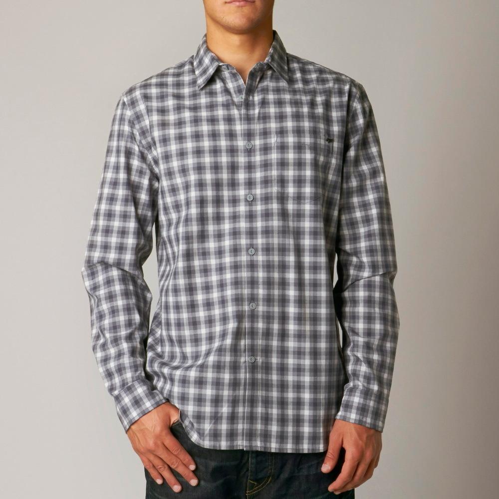 košile pánská FOX - Toby - GREY