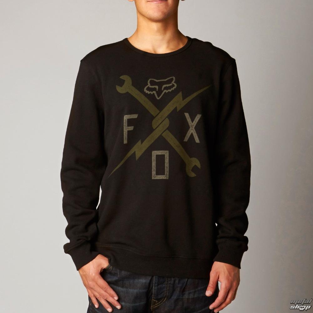 mikina pánská FOX - Phenom Crew - Black