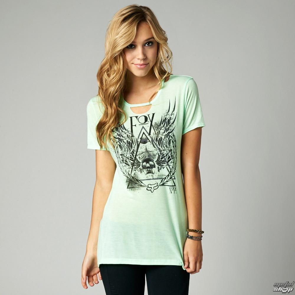 tričko dámské (top) FOX - Eve - Moto Mint