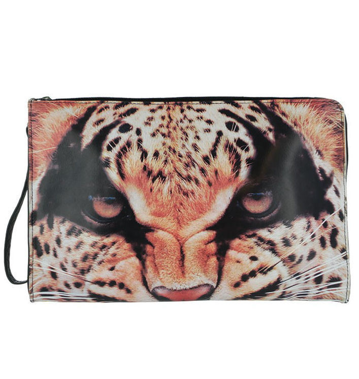 kabelka -psaníčko- IRON FIST - Here Kitty Clutch - Leopard - IFLCTH12830S14