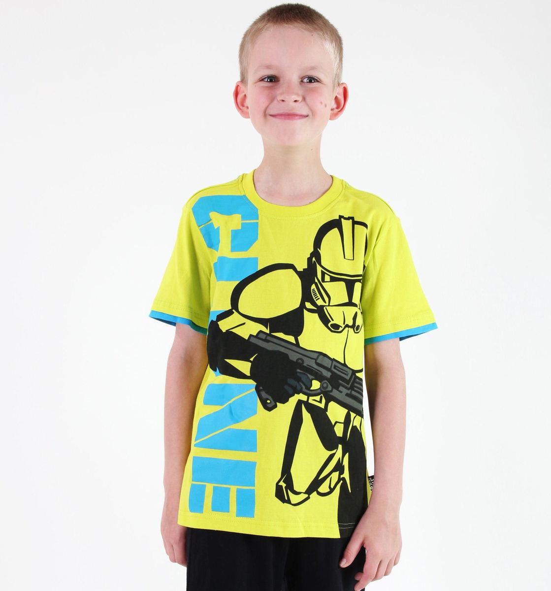 tričko chlapecké TV MANIA - Star Wars Clone - Lime - STAR 588