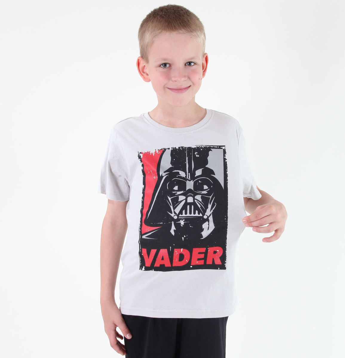 tričko chlapecké TV MANIA - Star Wars Clone - Creme - STAR 589