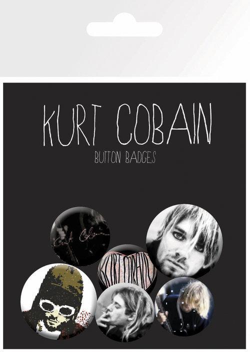 placky Kurt Cobain - GB Posters - BP0433