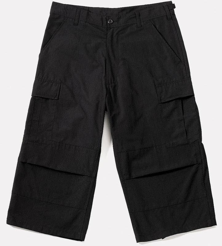 3/4 kalhoty pánské ROTHCO - Capri - BLACK - 8351