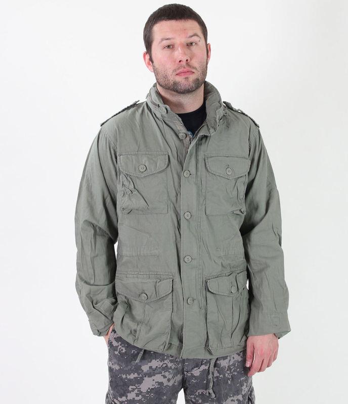 bunda pánská jarně/podzimní ROTHCO - LIGHTWEIGHT VINTAGE M-65 - SAGE - 8731