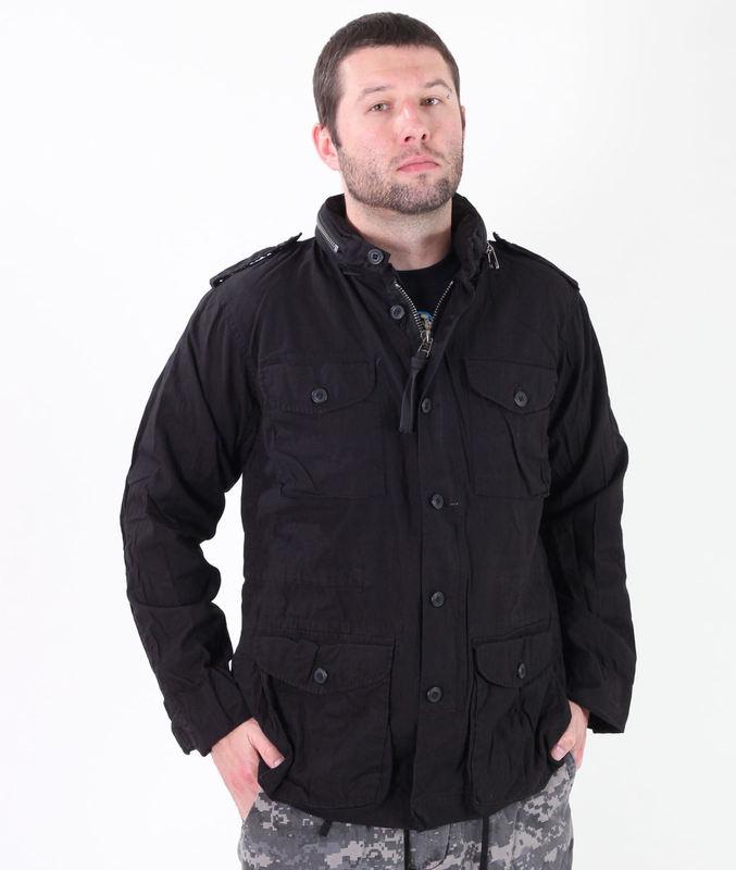 bunda pánská jarně/podzimní ROTHCO - LIGHTWEIGHT VINTAGE M-65 - BLACK - 8751