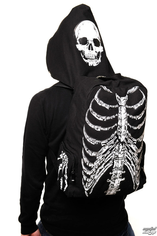 batoh BANNED - Skeleton - Black - BBN704