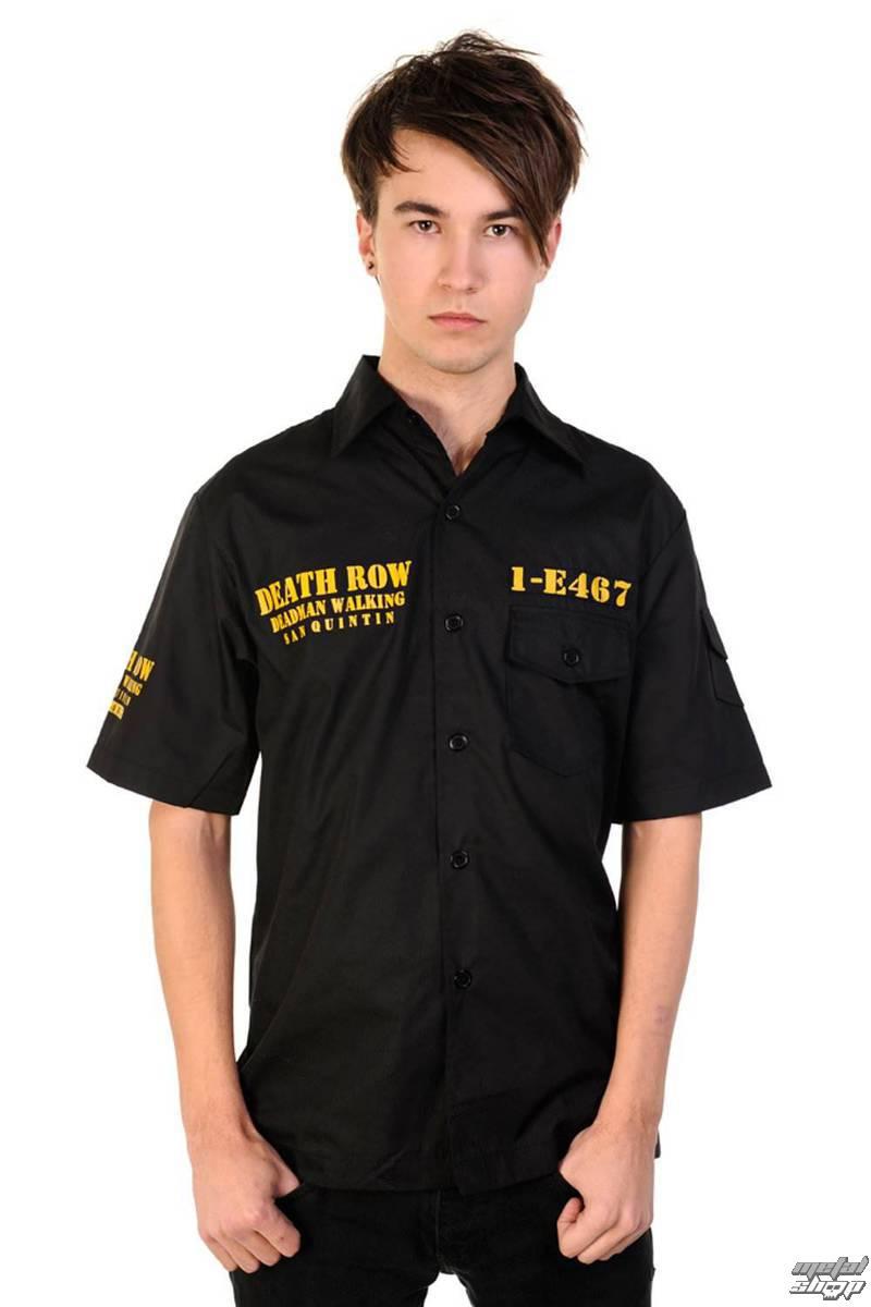 košile pánská BANNED - Death Row - Black - DEATHROW