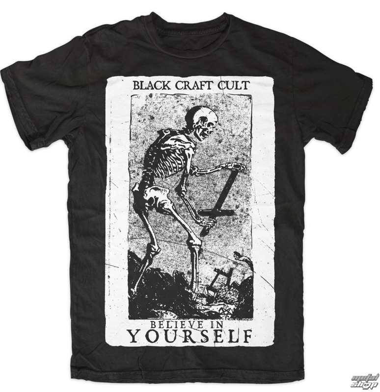 tričko pánské BLACK CRAFT - Believe In Yourself - Black