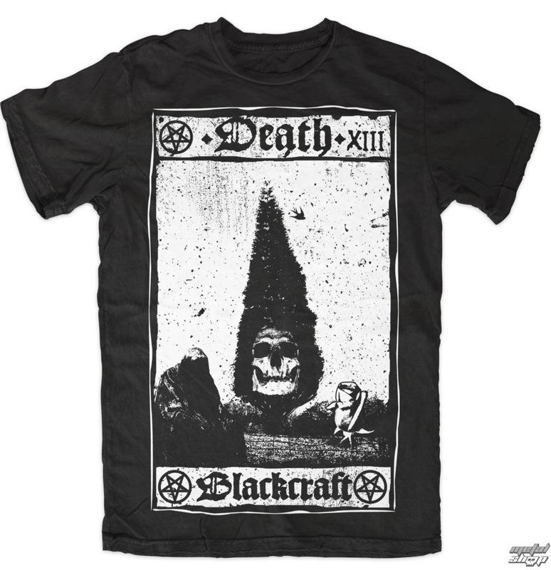 tričko pánské BLACK CRAFT - Death Card - Black - MT046DD