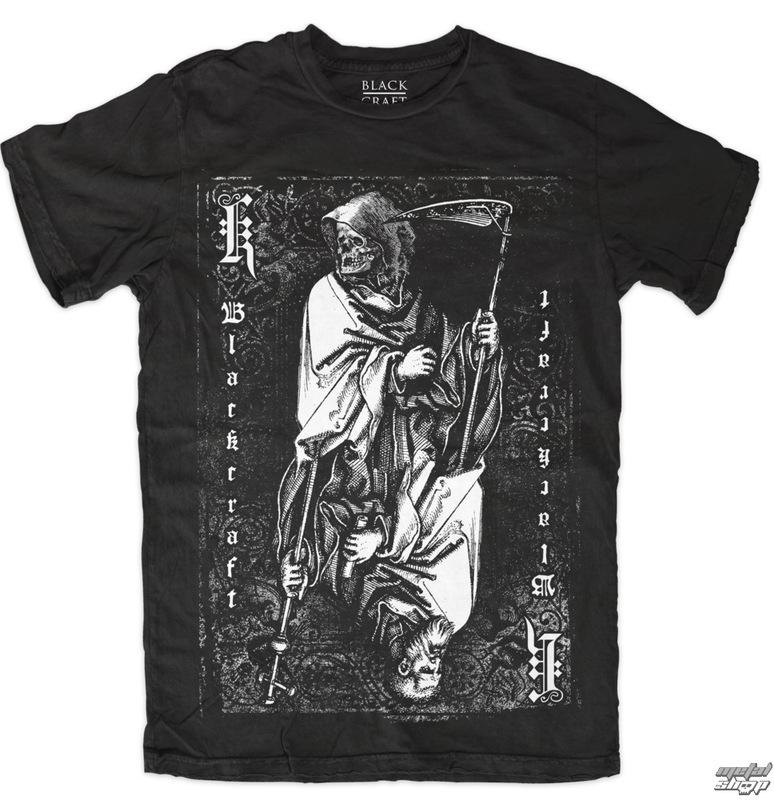 tričko pánské BLACK CRAFT - Death To Gods - Black - MT088DS