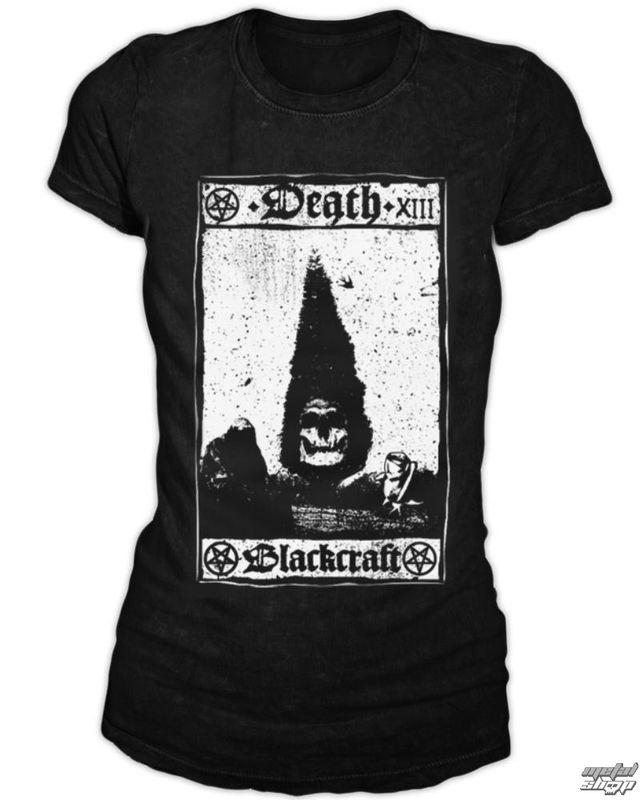 tričko dámské BLACK CRAFT - Death Card - Black - WT020DD