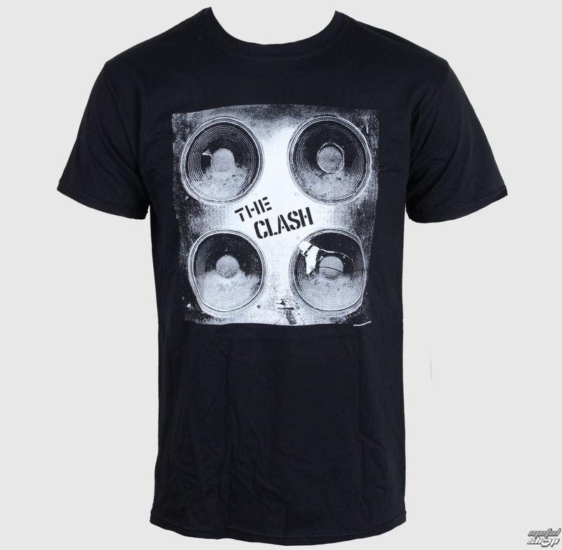 tričko pánské THE CLASH - BOOMBOX - BLACK - LIVE NATION - PECLA0184
